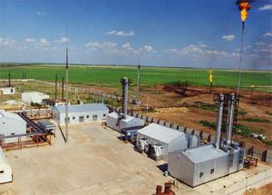 Модульные установки подготовки нефти